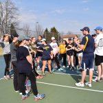 Clarkston High School Girls Junior Varsity Tennis falls to Eisenhower 8-0