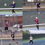 Clarkston High School Girls Junior Varsity Tennis beat Eisenhower 5-3