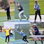 Clarkston High School Girls Junior Varsity Tennis finishes 1st place