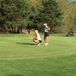 Clarkston High School Girls Varsity Golf beat Lake Orion 154-180