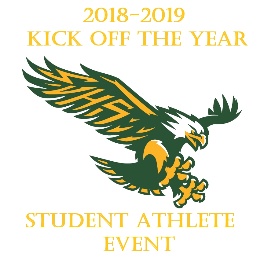 Don't Forget- Student Athlete Kick off the year event- August 22nd-All Student Athletes