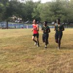 Boys Varsity Cross Country beats John F Kennedy 17 – 42