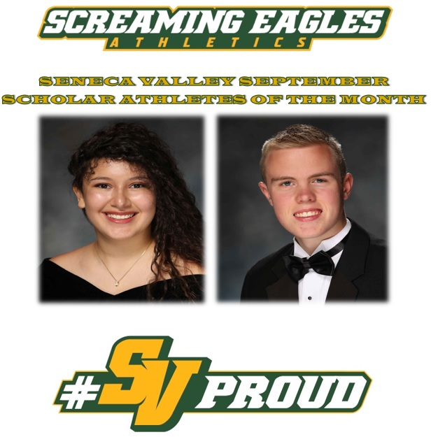 September Scholar Athletes of the Month