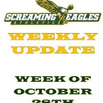 Weekly Update 10-28-19  Playoff Update- Senior Nights- Winter sports-Coaches contact information