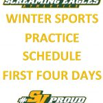 Winter Sports Begins November 15th-Important updates- and Coaches Contacts