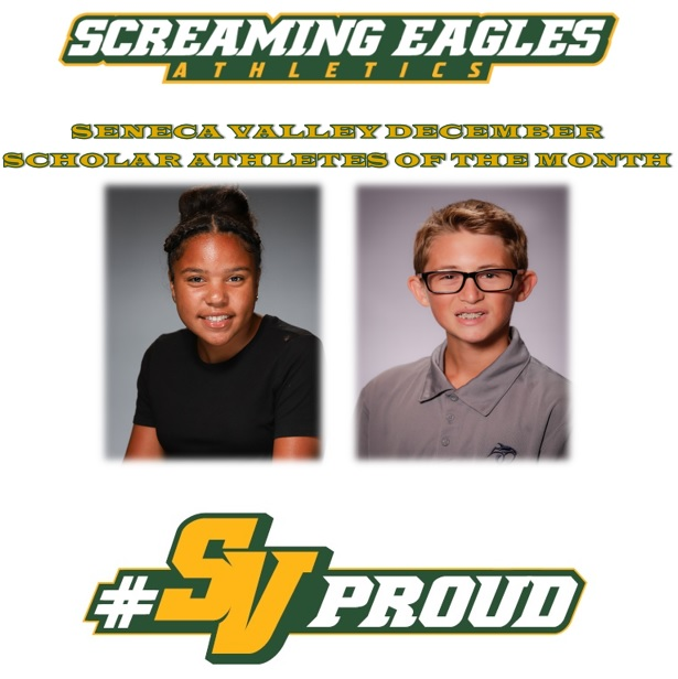 Seneca Valley December Scholar Athletes of the Month Honored
