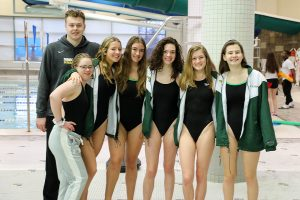 Photo Gallery- Swim and Dive vs Quince Orchard and Gaithersburg-Senior Recognition