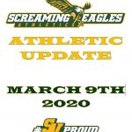 Athletics Update- Week of March 9th