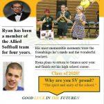 Spring Sports 2020 Senior Spotlight-Ryan Souza- Allied Softball