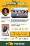 Spring Sports 2020 Senior Spotlight- Sahirra Burgess
