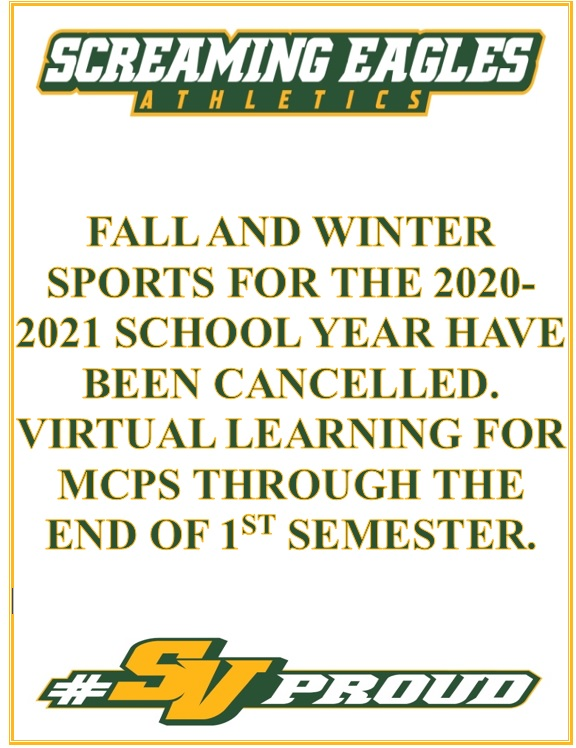 MCPS Fall and Winter Athletic Seasons Cancelled for 2020-21 School year- MCPS Athletics Update