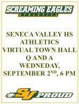 SVHS Athletics to host Virtual Town Hall Q and A -September 2nd, 6 pm