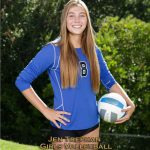 Jen Trephan is WHS's Girls September Athlete of the Month