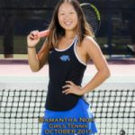Samantha Noh is WHS's Girls October Athlete of the Month