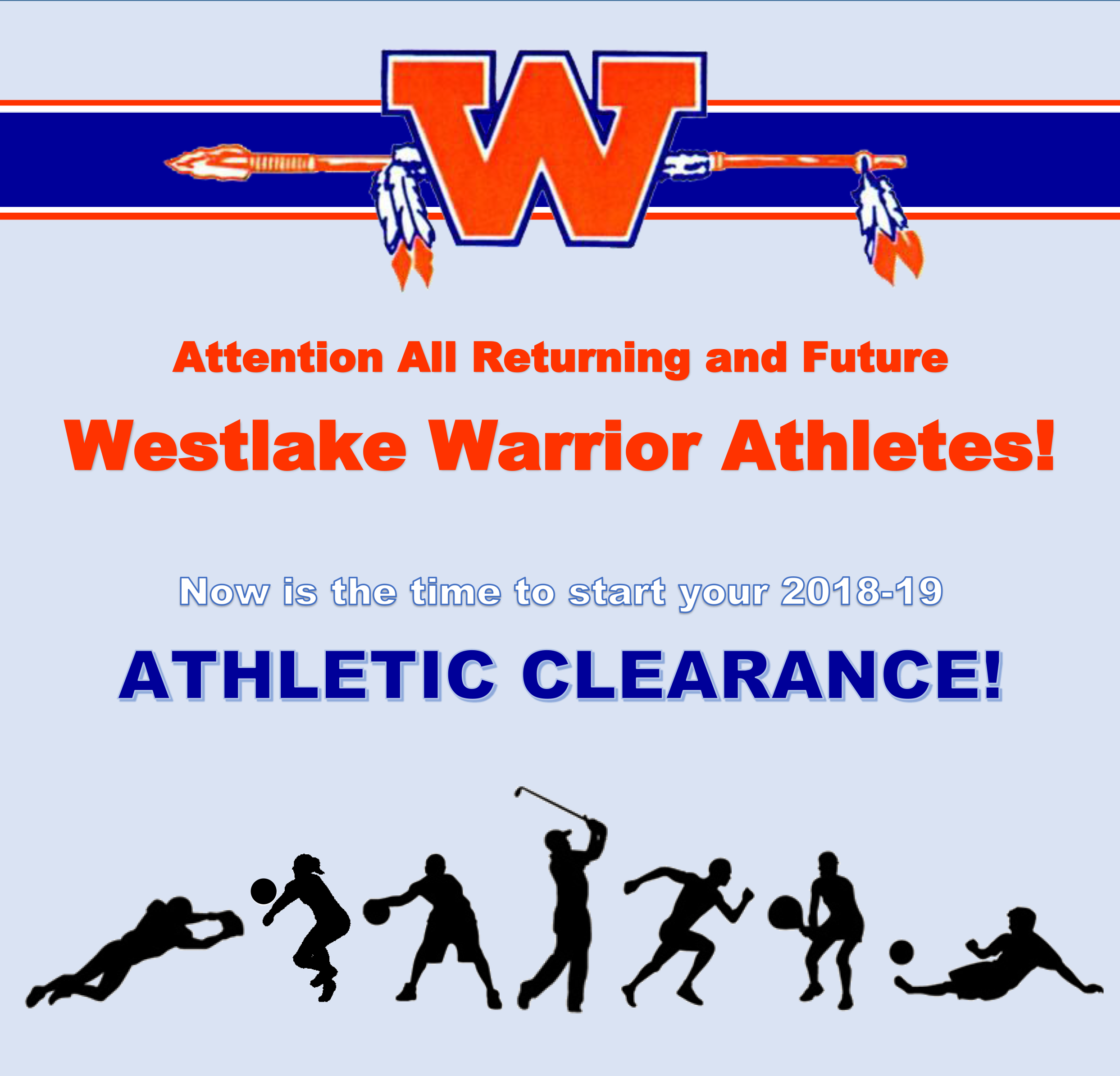 Attention All WHS Warrior Athletes!