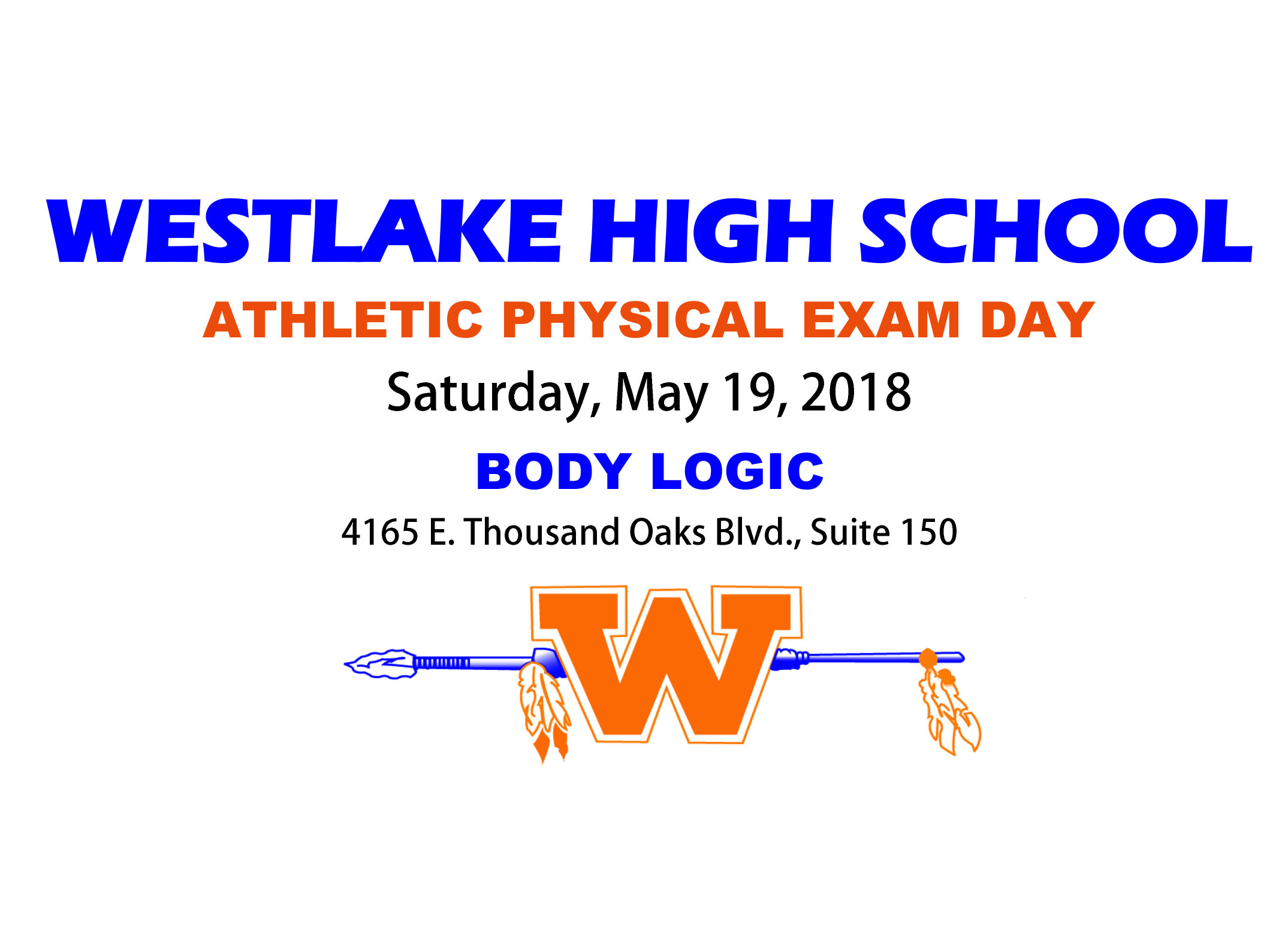 WHS Physical Exam Day 2018