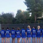 Girls Varsity Tennis beats Oaks Christian 14 – 4.