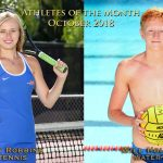WHS October Athletes of the Month