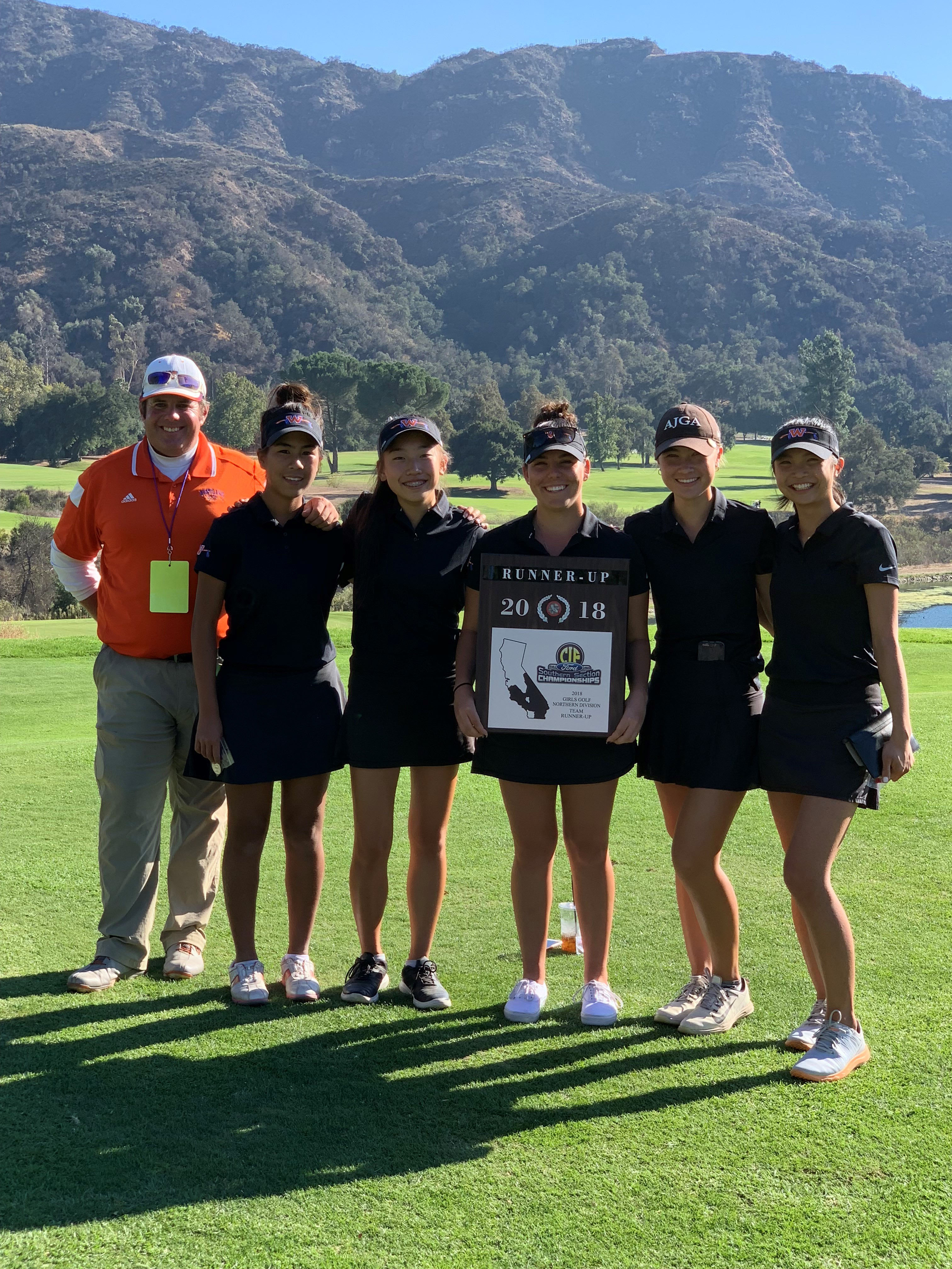 Westlake Girls' Golf Finish 2nd in CIF Northern Division