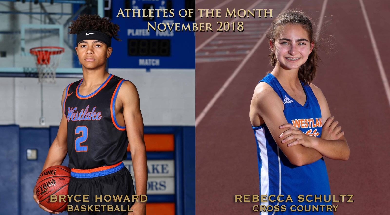 WHS November Athletes of the Month