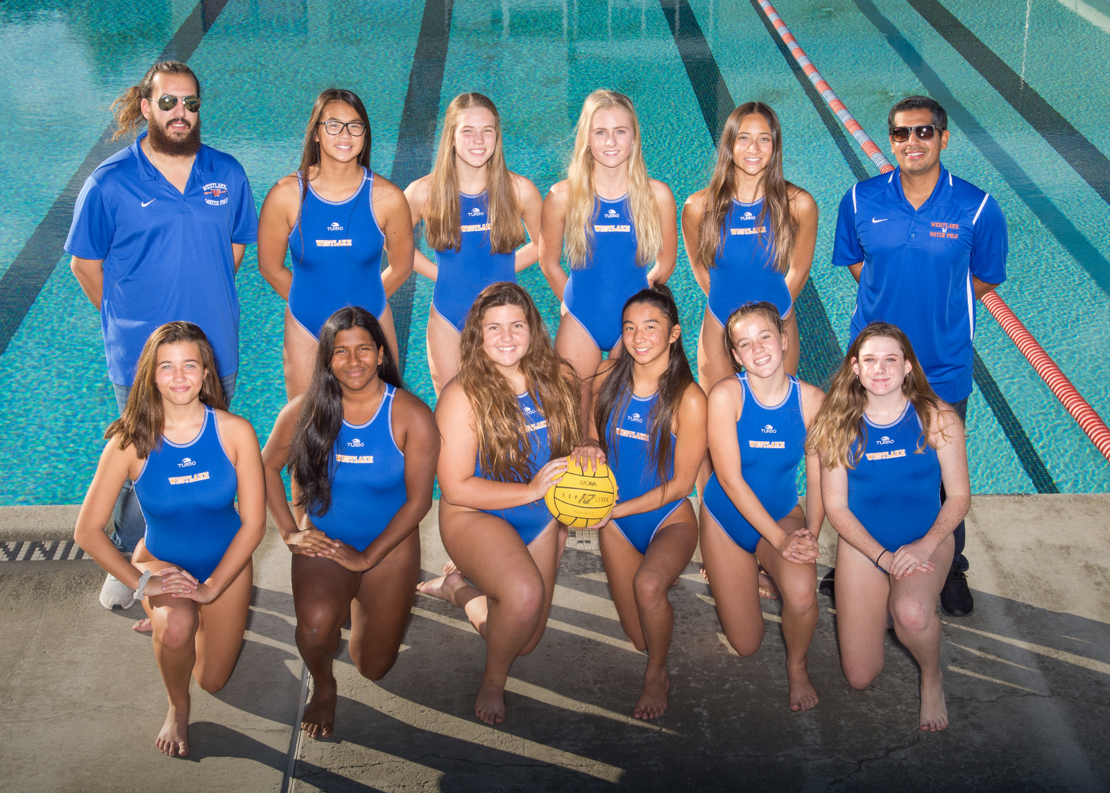 Girls' Water Polo Enjoying a Fun-Filled Winning Season
