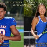 Johnson, Noh Named September Athletes of the Month