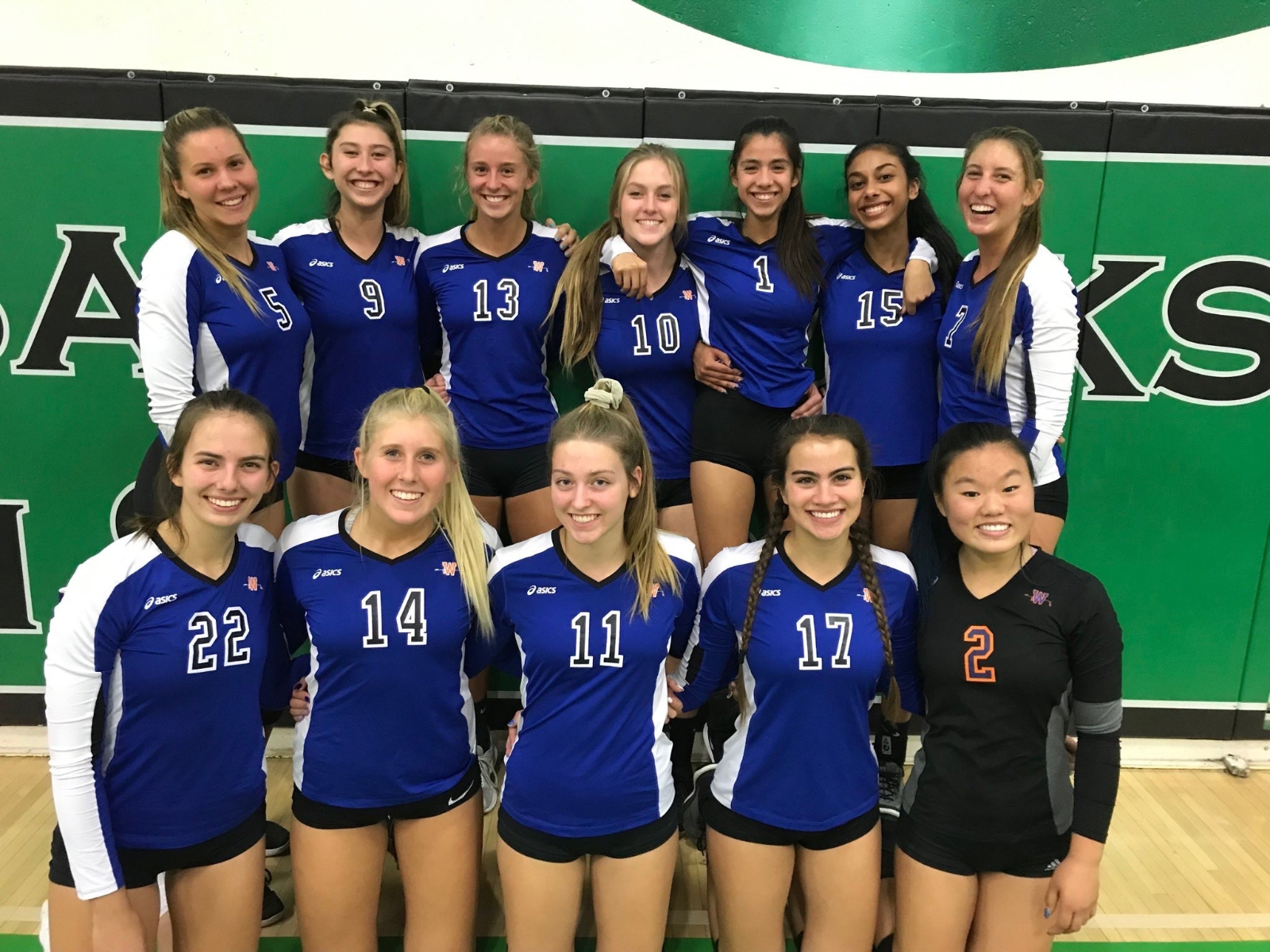 WHS Girls' Volleyball CHAMPIONS Again!