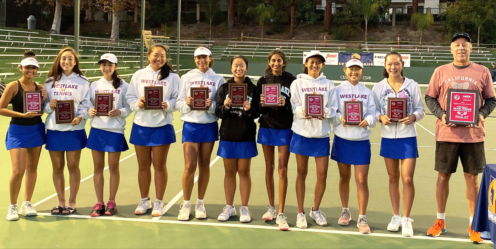 Girls' Varsity Tennis 2nd Place in CIF USTA SoCal Championships