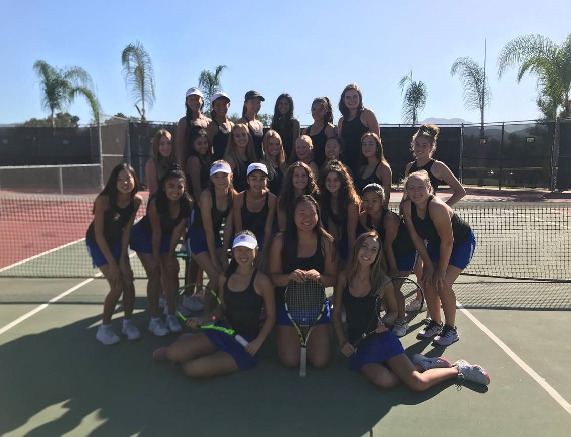 Accolades for WHS Girls' Tennis