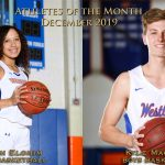Elohim, MacLean Receive Athlete of the Month Honors