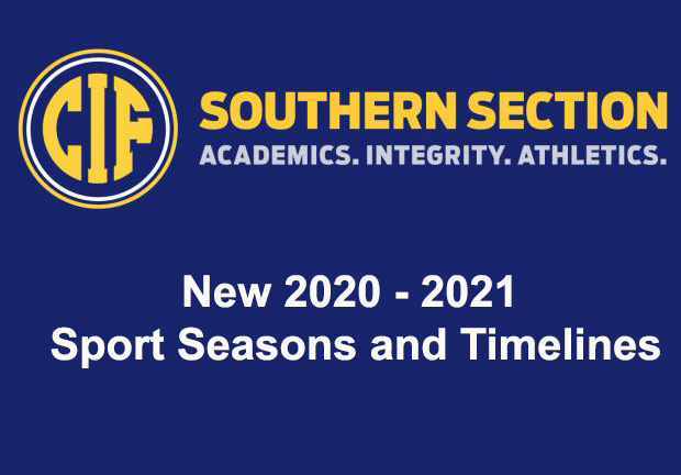 Important Sport Information for 2020-21 School Year
