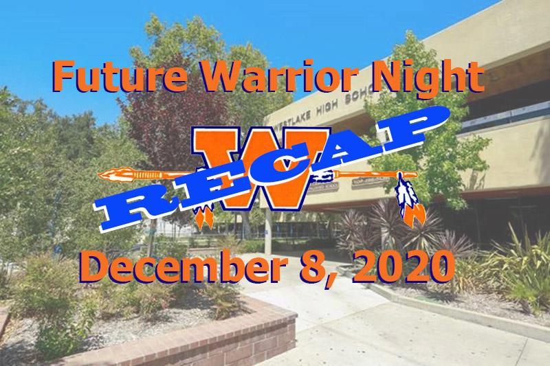 Future Warrior Night Recap