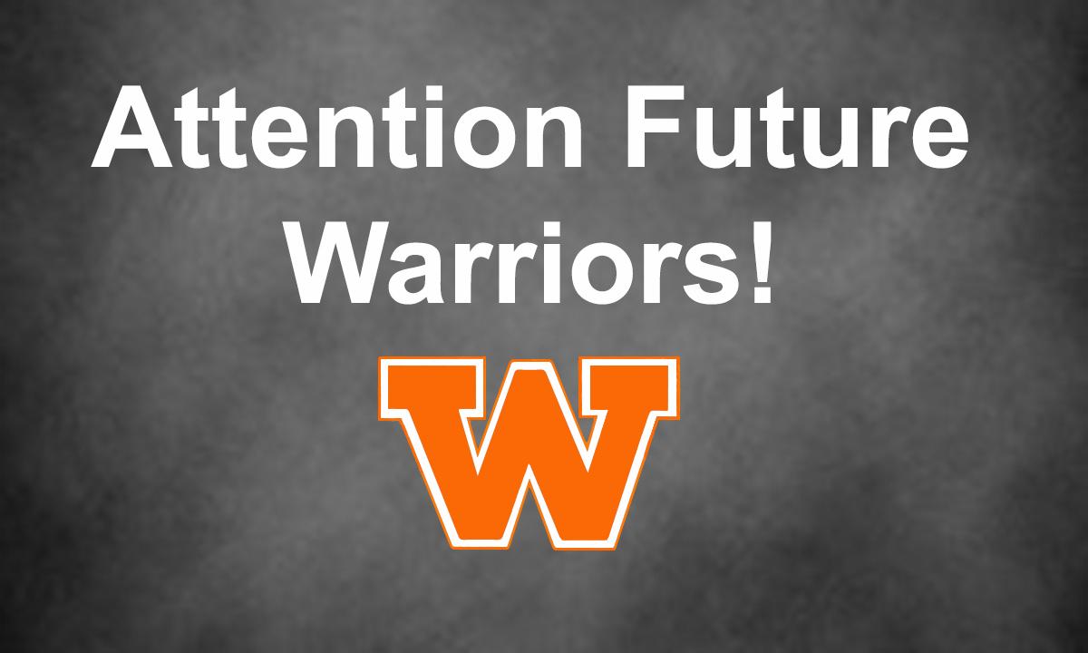 Attention Future Warriors!