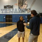 "Gaines, Lady Trojans Gear up for Playoffs ""White Out"""