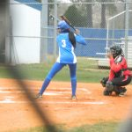 Cross High School Varsity Softball beat military magnet 18-1