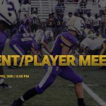 FOOTBALL PARENT/PLAYER MEETING INFORMATION