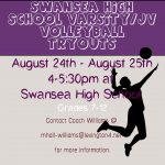 Swansea High Volleyball Tryouts