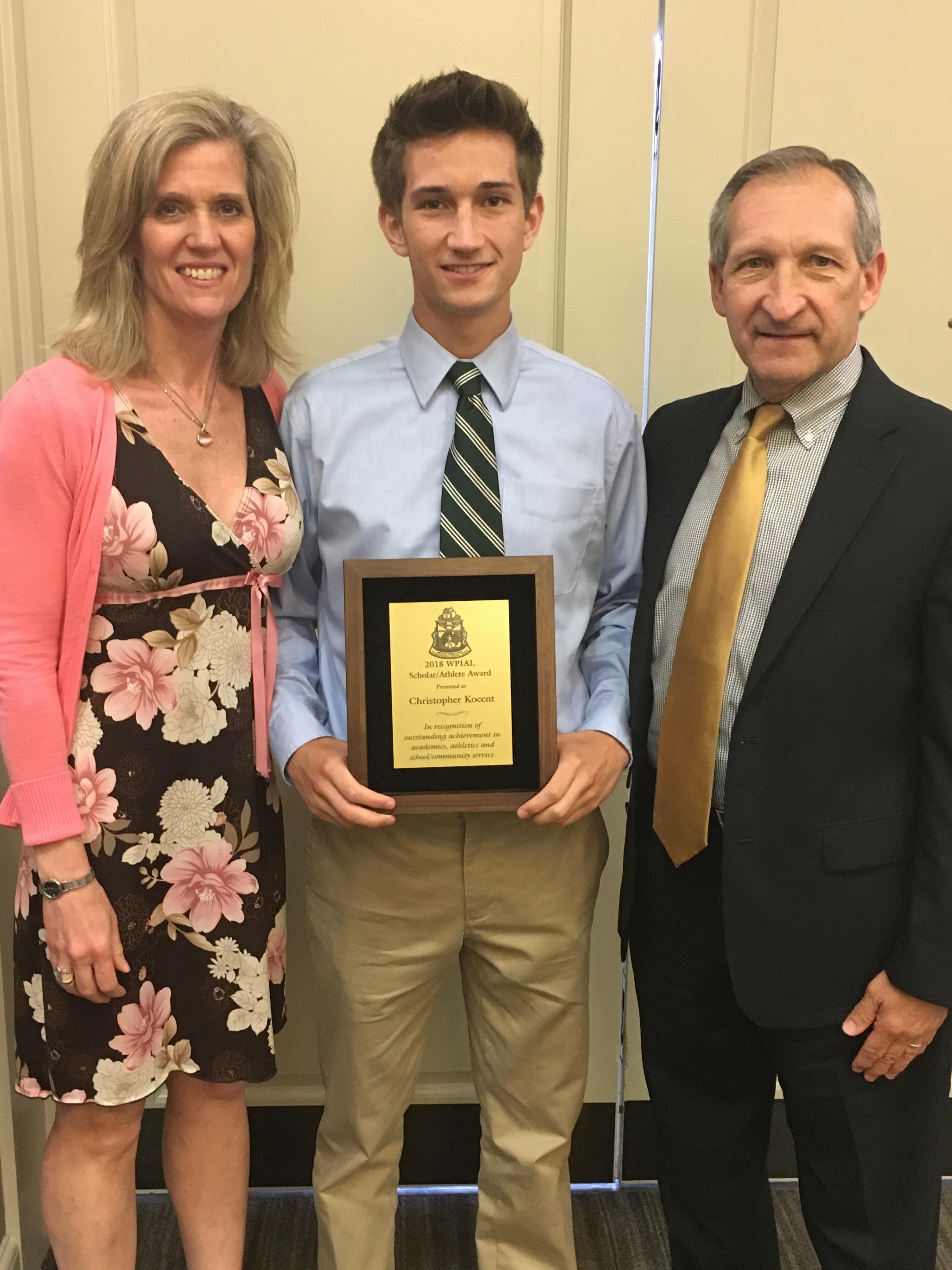 OLSH Senior Receives WPIAL Scholar-Athlete Award