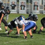 Junior High Football downs the Crusaders