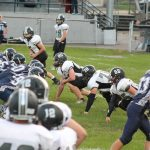 Junior High Football pulls away from Buckeye Local in the 2nd half