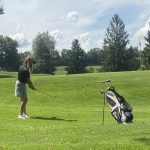 Girls Golf Wins Second Straight at Home