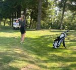 Girls Golf Defeat Red Knights on the Road