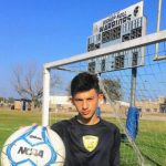 Boy's Soccer Goalie Talks to The Post