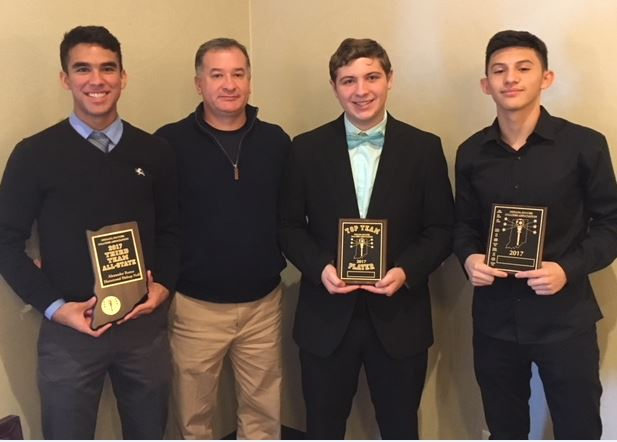 Athletes Earn Soccer District & State Awards