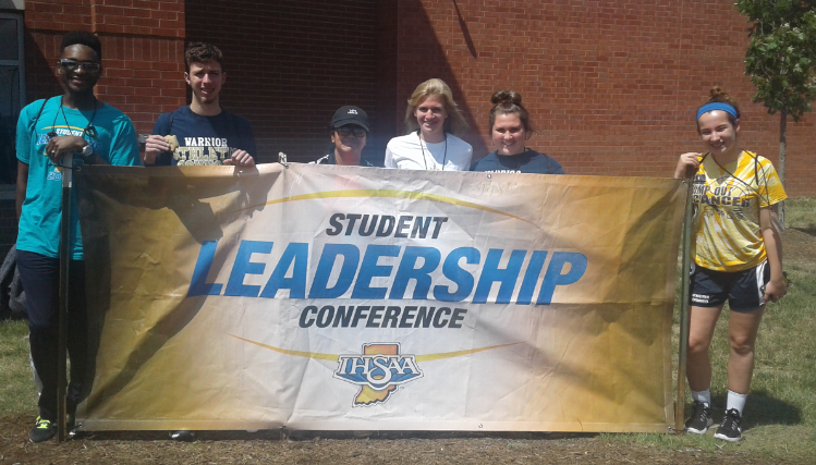 Athletes Attend Leadership Conference