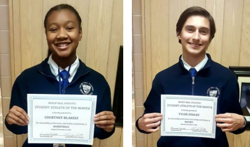 Student Athletes of the Month of November