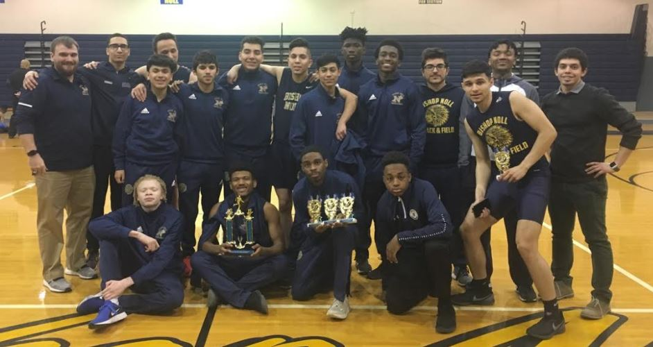 Boys Track Takes First Title of the Season