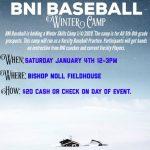 BNI Baseball Winter Camp