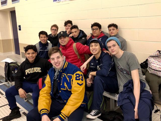 Congratulations Boys Varsity Swim Team!