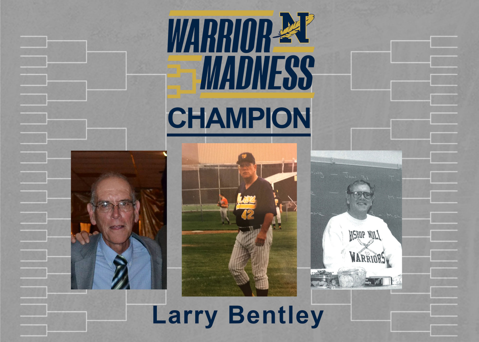 2021 Warrior Madness Champion – Larry Bentley